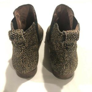 Madewell Shoes - Madewell Nadine Leopard Chelsea Ankle Booties